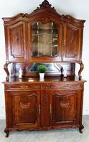 Antik barokk tálalószekrény