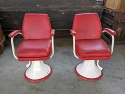 Retró fodrász székek