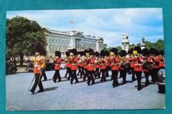 Nagy-Britannia,London,brit királyi testőrség katonája,postatiszta,külföldi képeslap 3.