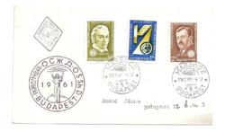 A Szocialista Országok Közlekedésügyi Minisztereinek Értekezlete Budapest, bélyegeken