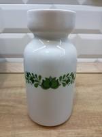 Alföldi porcelán zöld magyaros váza