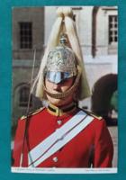Nagy-Britannia,London,brit királyi testőrség katonája,postatiszta,külföldi képeslap 2,