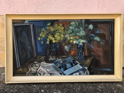 Göldner Tibor  - Sárga virágok ( képcsarnokos )