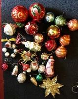 Régi retro  Karácsonyfadíszek