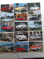 Autós képeslapok