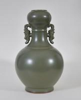 Teadust mázas antik kínai váza