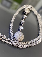 Káprázatos ezüst nyaklánc és Medál