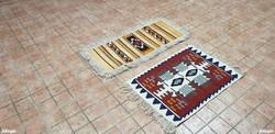 2155  2DB Kézi Killim Szőnyeg 80X50+95X50 Ingyen Futár