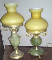 Régi asztali lámpa / éjjeli lámpa párban