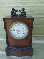 Antik Empíre, negyedütös kandalló óra.1840
