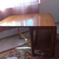 Nyitható Furnérozott Fa Asztal