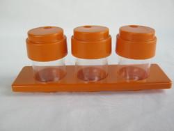Retro ... műanyag fűszertartó készlet