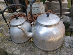 2 db retro teafőző