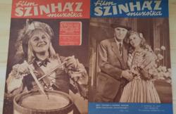 12 db film SZÍNHÁZ muzsika 1957,1959,1960,1962.