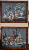 1820as Antik klasszikus asztali csendélet, Gouache
