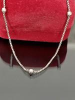 Kecses ezüst nyaklánc