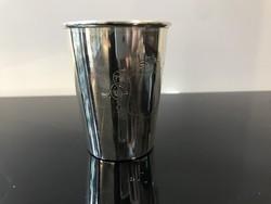Ezüst keresztelő pohár - E19