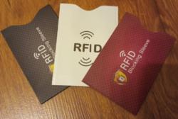 RFID bankkártya adatlopás elleni biztonsági tok fehér