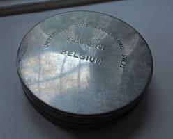 GEVAERT (AGFA), BELGIUM - MOZIFILMDOBOZ plusz egy másik kis kerek aluminium doboz - küldöm is
