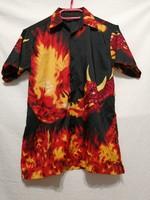 Vörös sárkányos ing. mellb. 100 cm