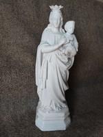 Mária szobor 38 cm, porcelán