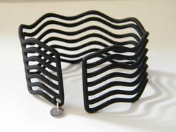 3D nyomtatott My Magpie ezüst charmos karperec