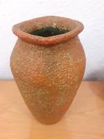 Ritka pesthidegkúti kerámia váza