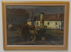 János P. Bak colorful horse-drawn carriages weekly sale2