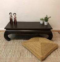 Hibátlan, gyönyörű eredeti, régi kínai ópium asztal, dohányzóasztal