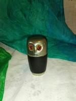Kínáló poharak ,bagoly alakú tartóban, 4db....2 centes ,zsebben is hordható....