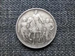 A honfoglalás 1000. évfordulója .835 ezüst 1 Korona 1896 KB (id23724)