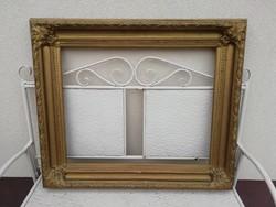 Antique thick picture frame, 89cm x76cm
