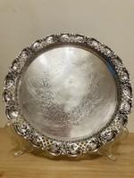 Antik! Ezüst  925 ös áttört tálca 1801-ből