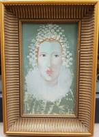 Herpai Zoltán (1951-2011) : Női portré