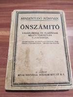 Antik könyv! Mindentudó könyvek, Önszámító, vásárlóknak és eladóknak nélkülözhetetlen tanácsadója