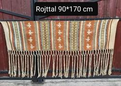 Torontáli falvédő falikárpit faliszőnyeg Nosztalgia darab ,falusi paraszti dekoráció