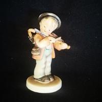 Antik Hummel hegedűs fiúcska
