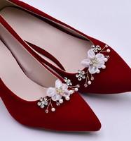 Esküvői, menyasszonyi, alkalmi cipődísz, cipőklipsz ES-CK20