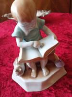 Zsolnay Olvasó fiúcska