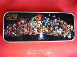Star Wars - star wars silver colored metal pen holder, storage