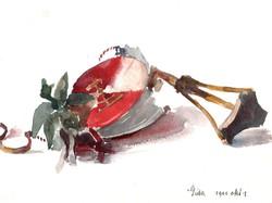 14 x 19 cm akvarell, papír