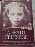 Filmplakát , A festő felesége
