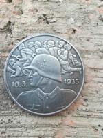 Harmadik Birodalmi katonai emlékérem 1935