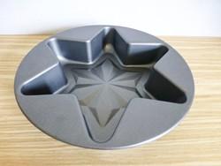 Teflon bevonatú sütőforma,csillag alakú,dobozában