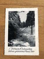 Karácsonyi képeslap - 1950 -es képeslap
