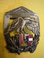 Lövészegyesület Felső Ausztria jelvény 2107 11