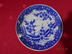 Japán porcelán, cseresznye virágos tálka, asztalközép.