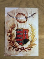 Honvéd lovassági zászló 1849 - Hadtörténeti múzeumi belépőjegy postatiszta képeslap