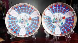 Herend Luxury wall plates - O'Sullivan mintás Herendi fali tányérok