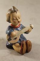 Antik hummel gitáros gyerek 893